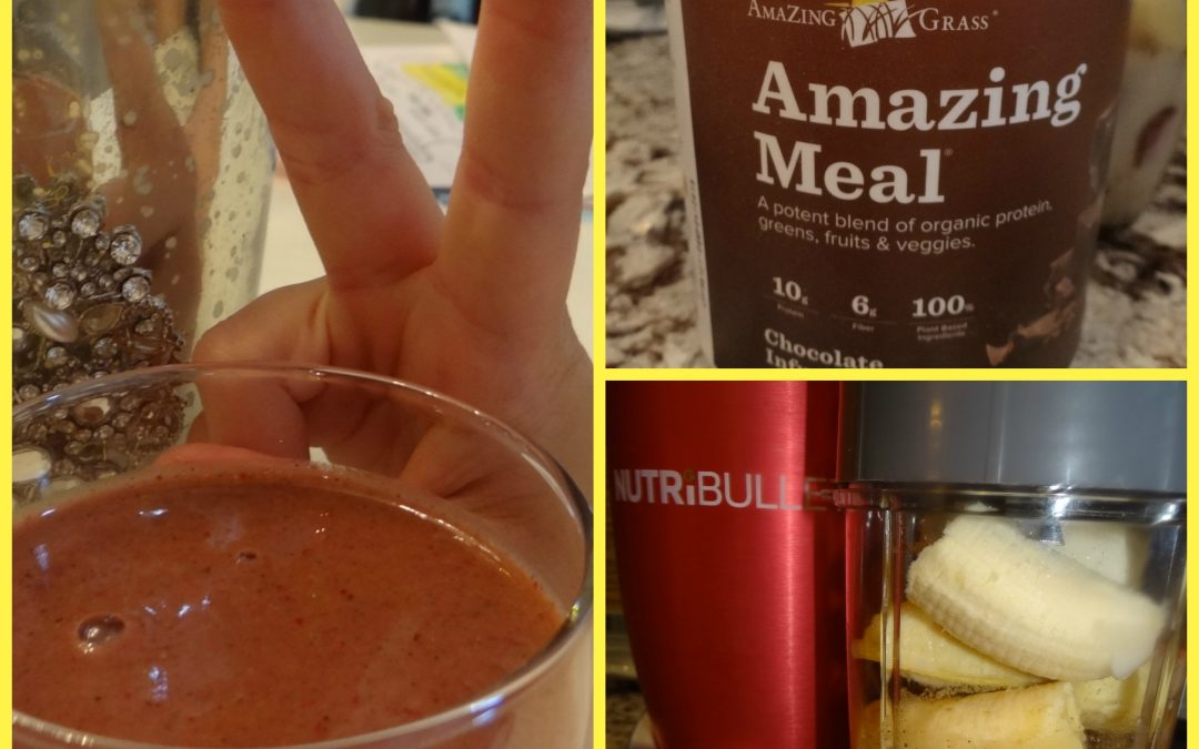 "Kid Freindly ""Chocolate"" Smoothie"