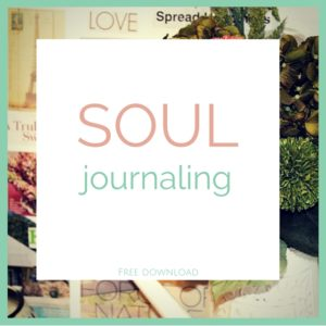 Get my SOUL journaling e-guide