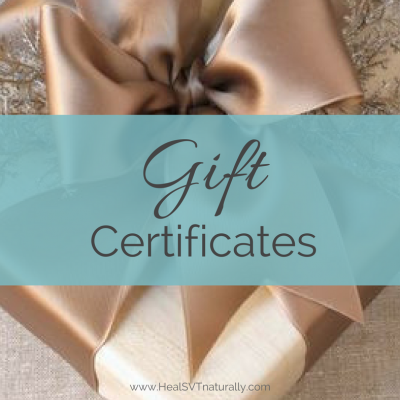 Gift Certificates (2)