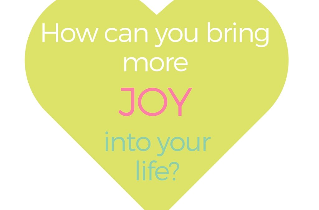 Find Your Heart Joy…