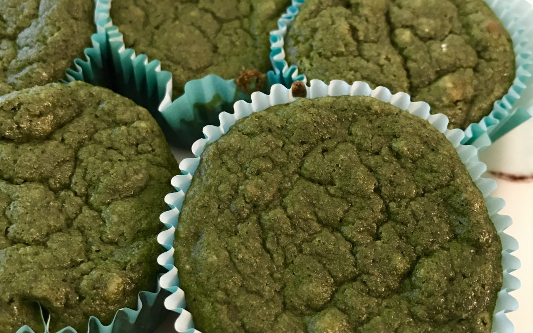 From my SVT Prevention Kitchen: Green Monster Muffins