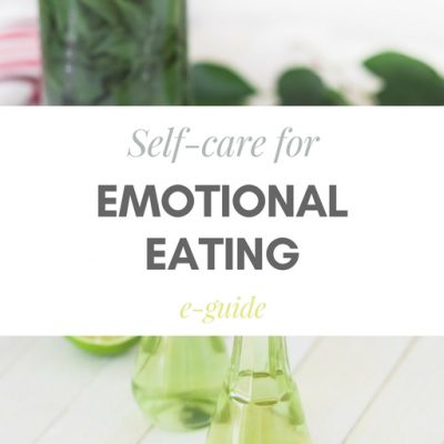 self-care for emotional eating