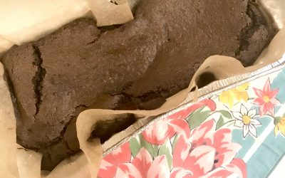 SVT Prevention Food: Paleo Chocolate Sweet Potato Brownie Loaf
