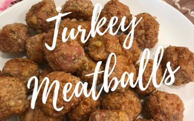 Gluten Free Turkey Meatballs