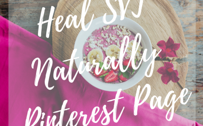 Heal SVT Naturally Pinterest Page Resource