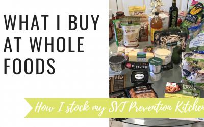 SVT Prevention Video: What I Buy at Whole Foods for SVT Prevention