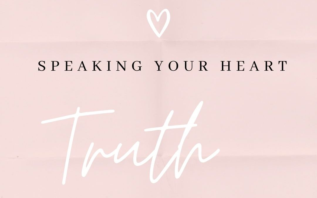 Speaking Your Heart Truth; Reflections from My Journal Entries Prior to my First SVT
