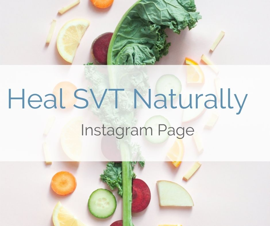 Follow the Heal SVT Naturally Instagram page