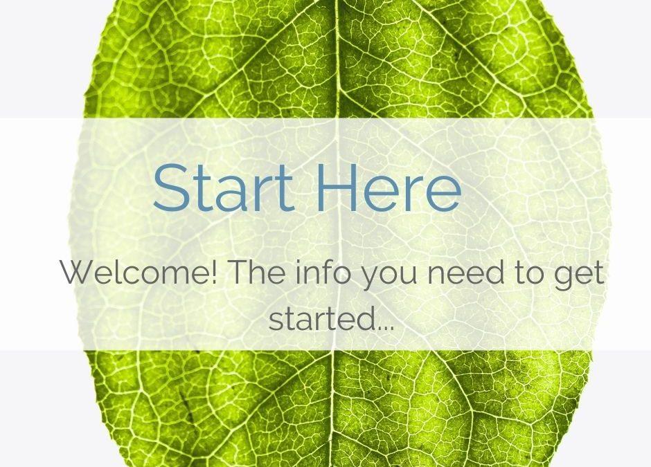 START Here…